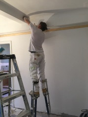 #Mamais workforce #skimcoating surfaces. What's your next #project? Call us today! bit.ly/1gcjWeK