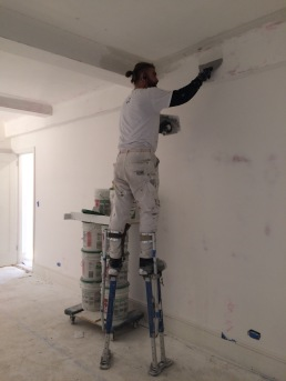 #Mamais workforce #skimcoating surfaces. What's your next #project? Call us today! http://bit.ly/1gcjWeK