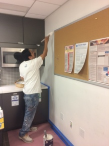 #Mamais workforce #painting surfaces. What's your next #project? Call us today! http://bit.ly/1gcjWeK
