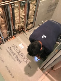 #Mamais workforce installing #cement #boards. What's your next #project? Call us today! http://bit.ly/1gcjWeK