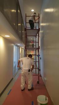 #Mamais workforce #painting and #finishing surfaces. What's your next #project? Call us today! http://bit.ly/1gcjWeK