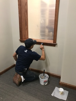 #Mamais workforce #staining surfaces. What's your next #project? Call us today! http://bit.ly/1gcjWeK