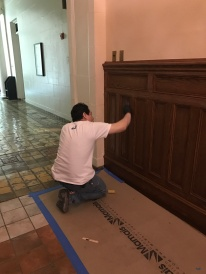 #Mamais workforce #staining #surfaces. What's your next #project? Call us today! http://bit.ly/1gcjWeK
